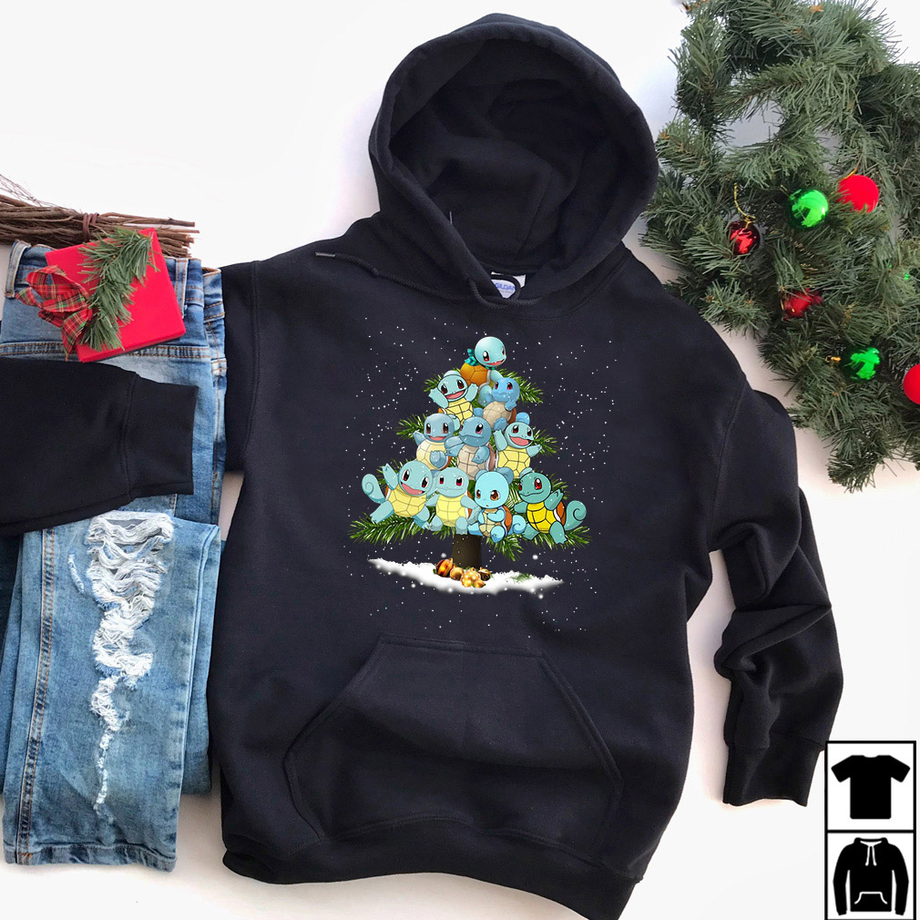 Squirtle Christmas tree sweater