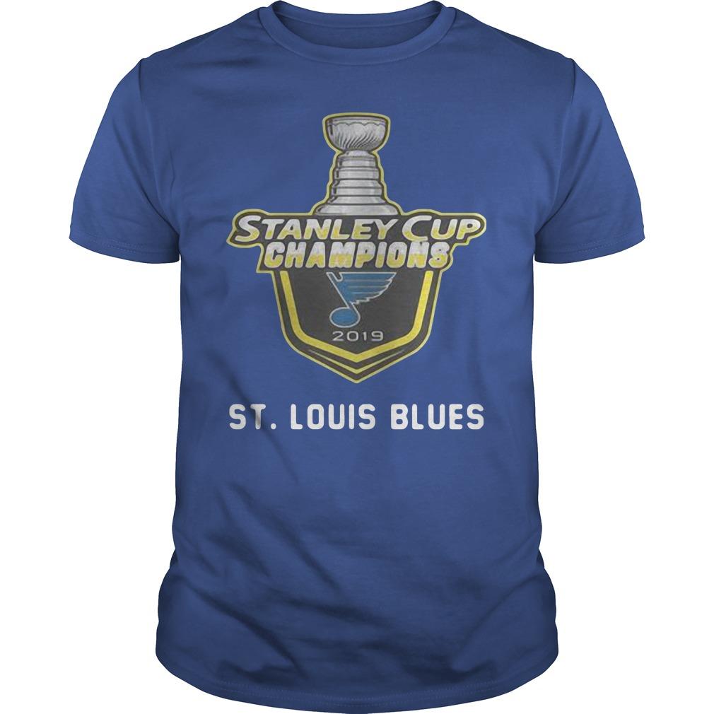 St Louis Blues 2019 Stanley Cup Champions shirt