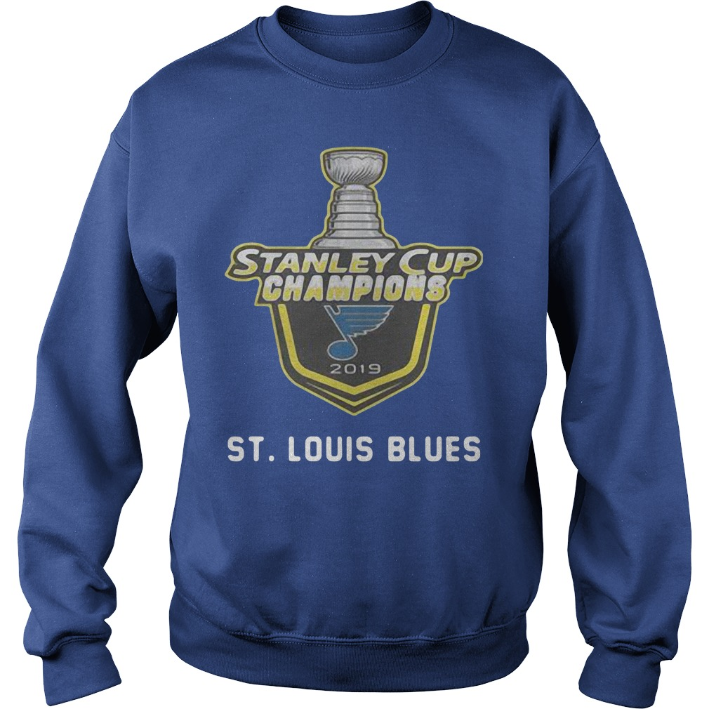 St Louis Blues 2019 Stanley Cup Champions Sweater