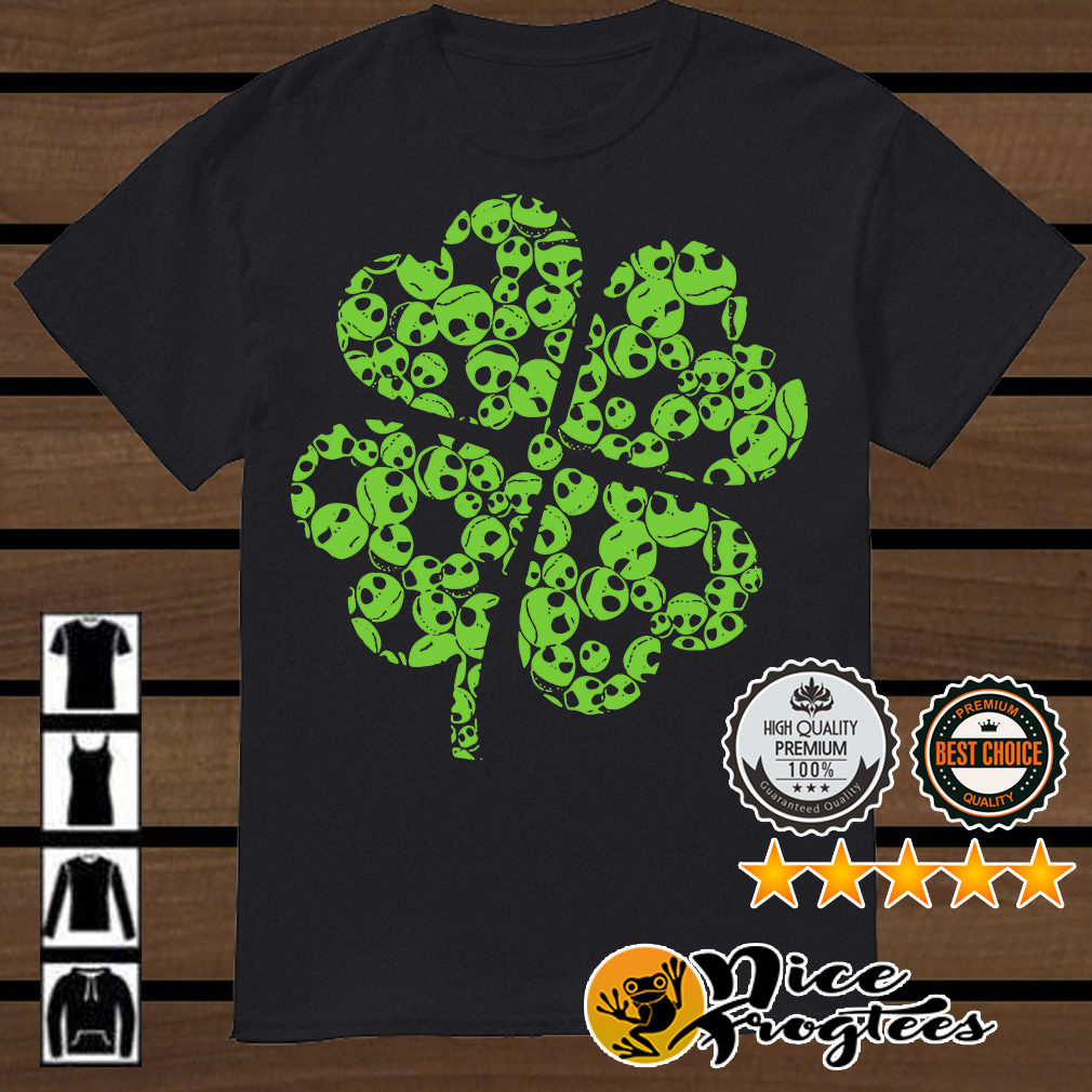 St Patrick Day Jack Skellington shamrock shirt
