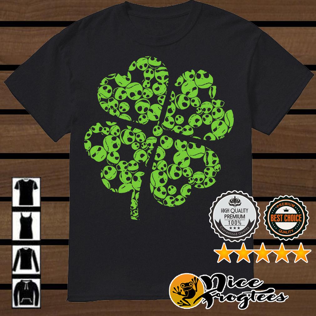 St Patrick Day Jack Skellington shamrock shirt