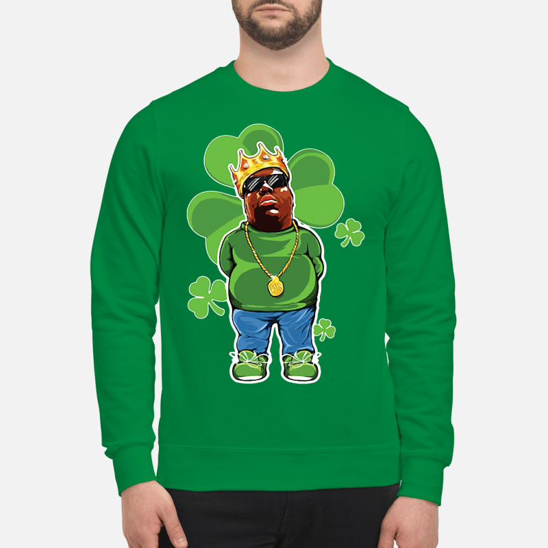 St Patrick Day The Notorious BIG Sweater