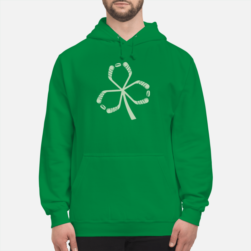 St Patrick's Day hockey Hoodie