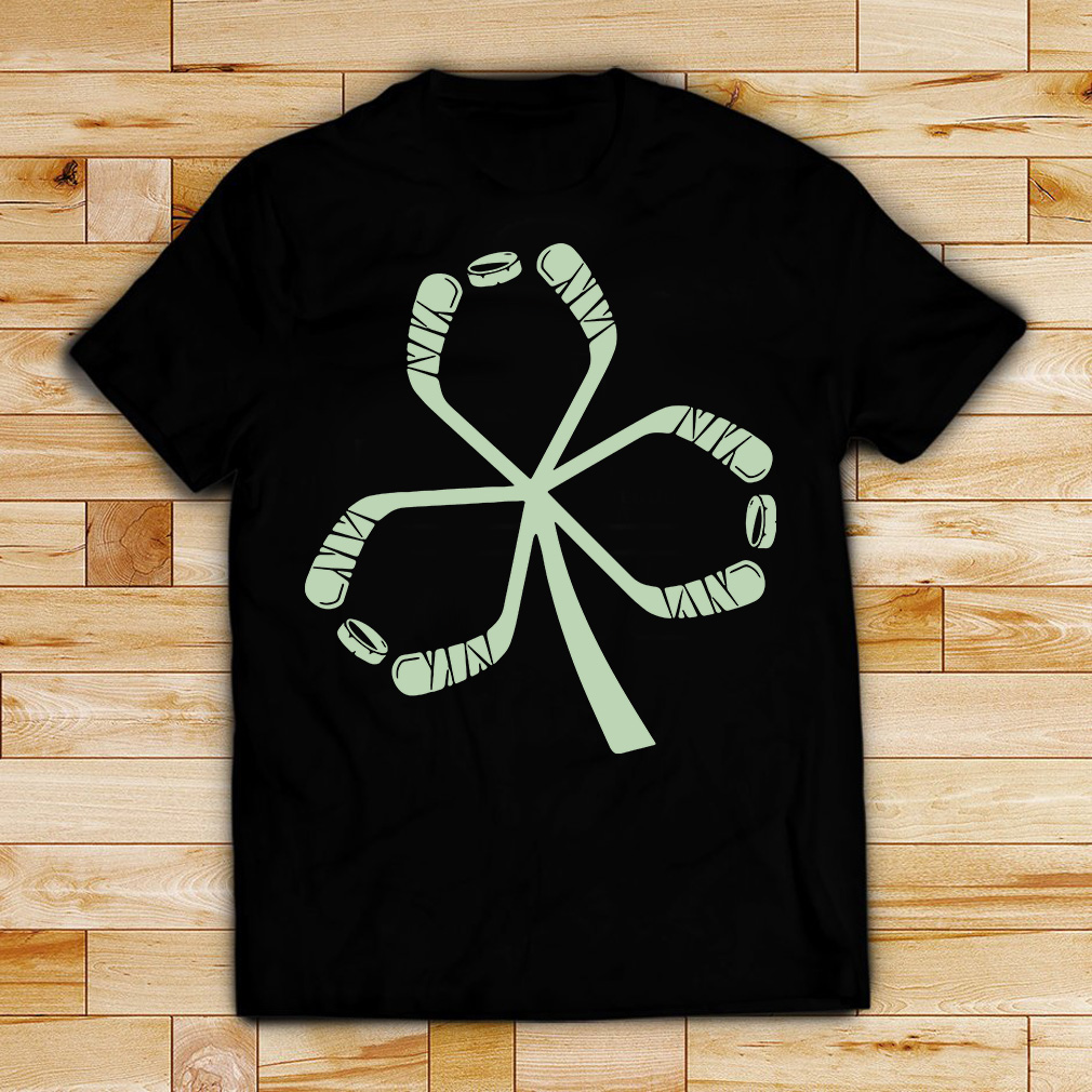 St Patrick's Day hockey shirt