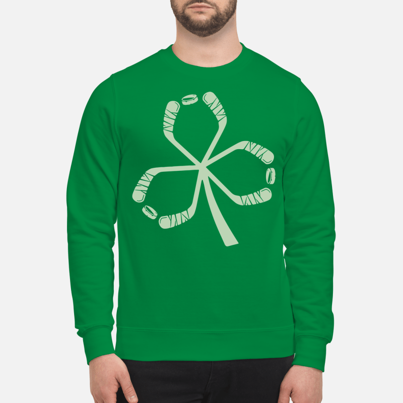 St Patrick's Day hockey Sweater