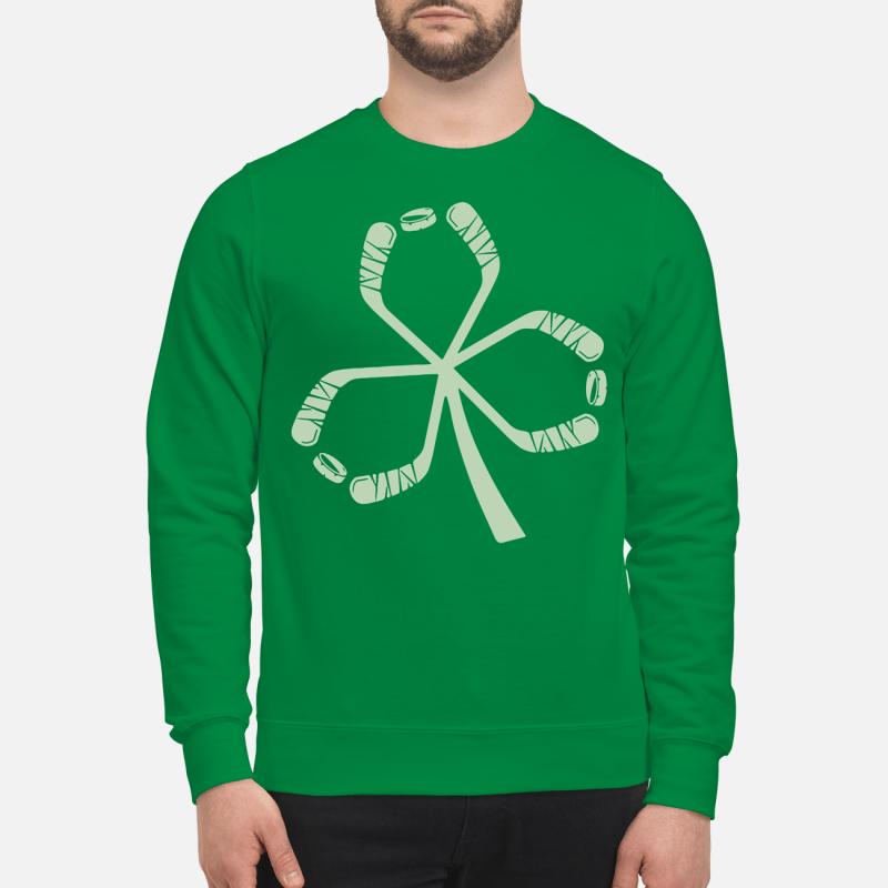 St Patrick's Day hockey Sweater