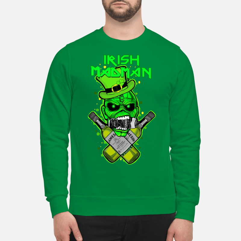 St Patrick's Day Irish Madman Jameson Sweater