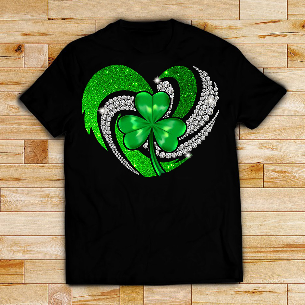 St Patrick's Day Shamrock Irish heart shirt
