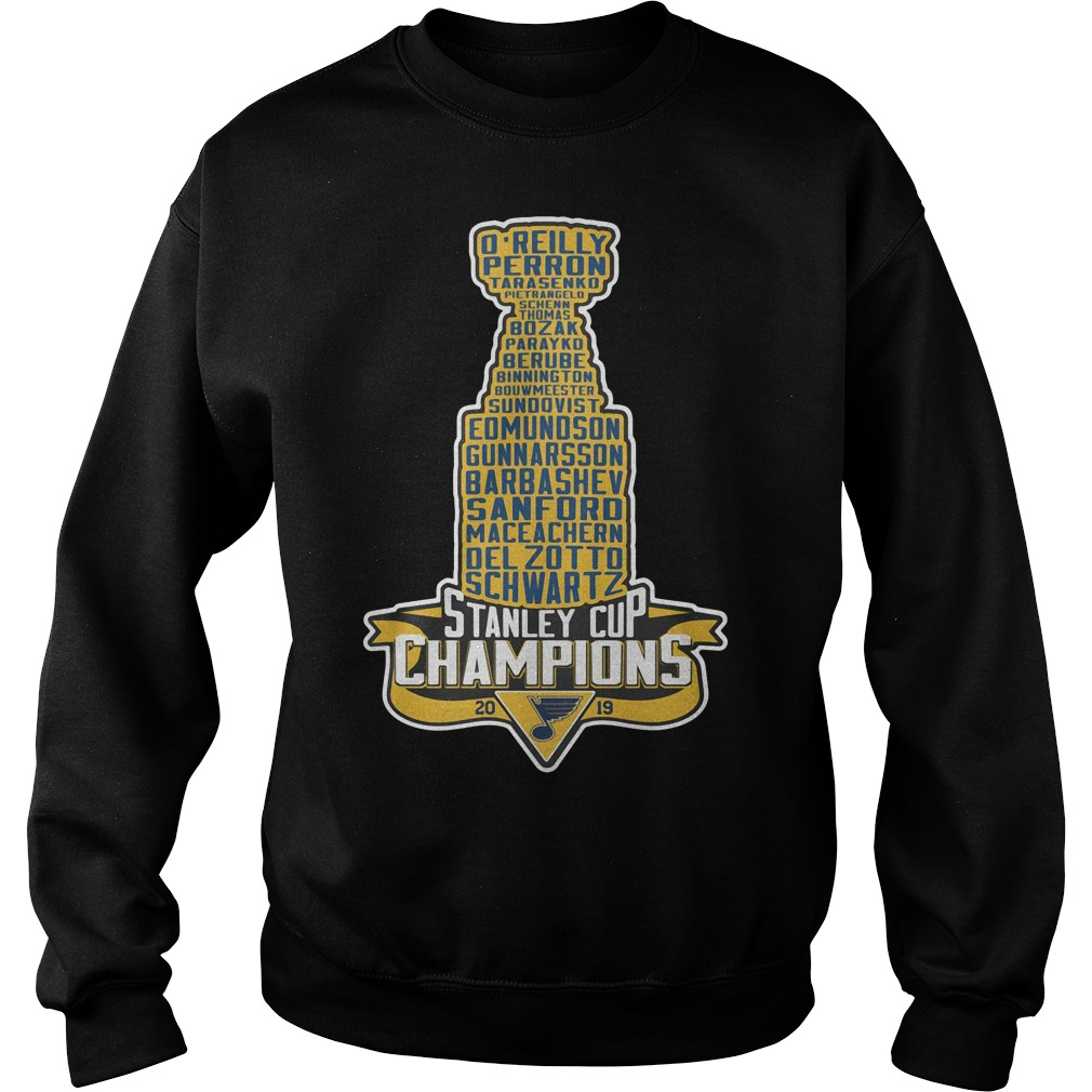 Stanley Cup Champions 2019 Sweater
