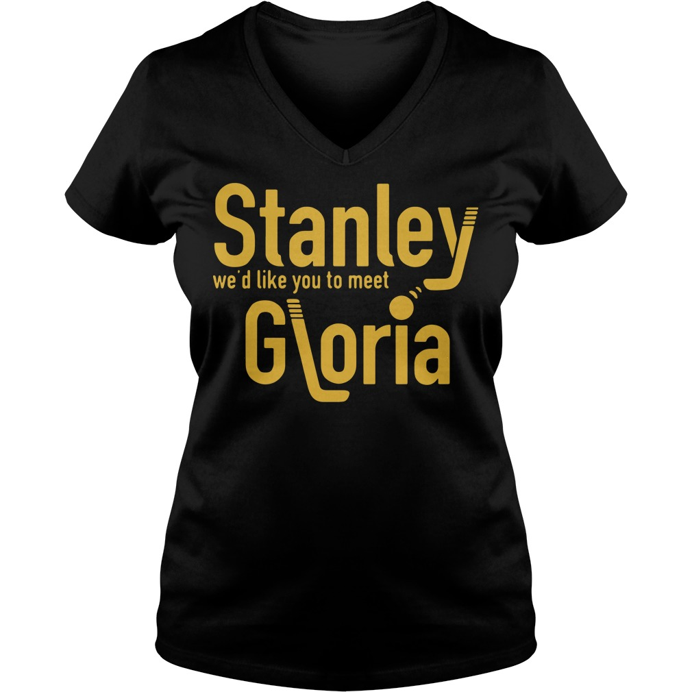 Stanley we'd like you to meet Gloria V-neck t-shirt