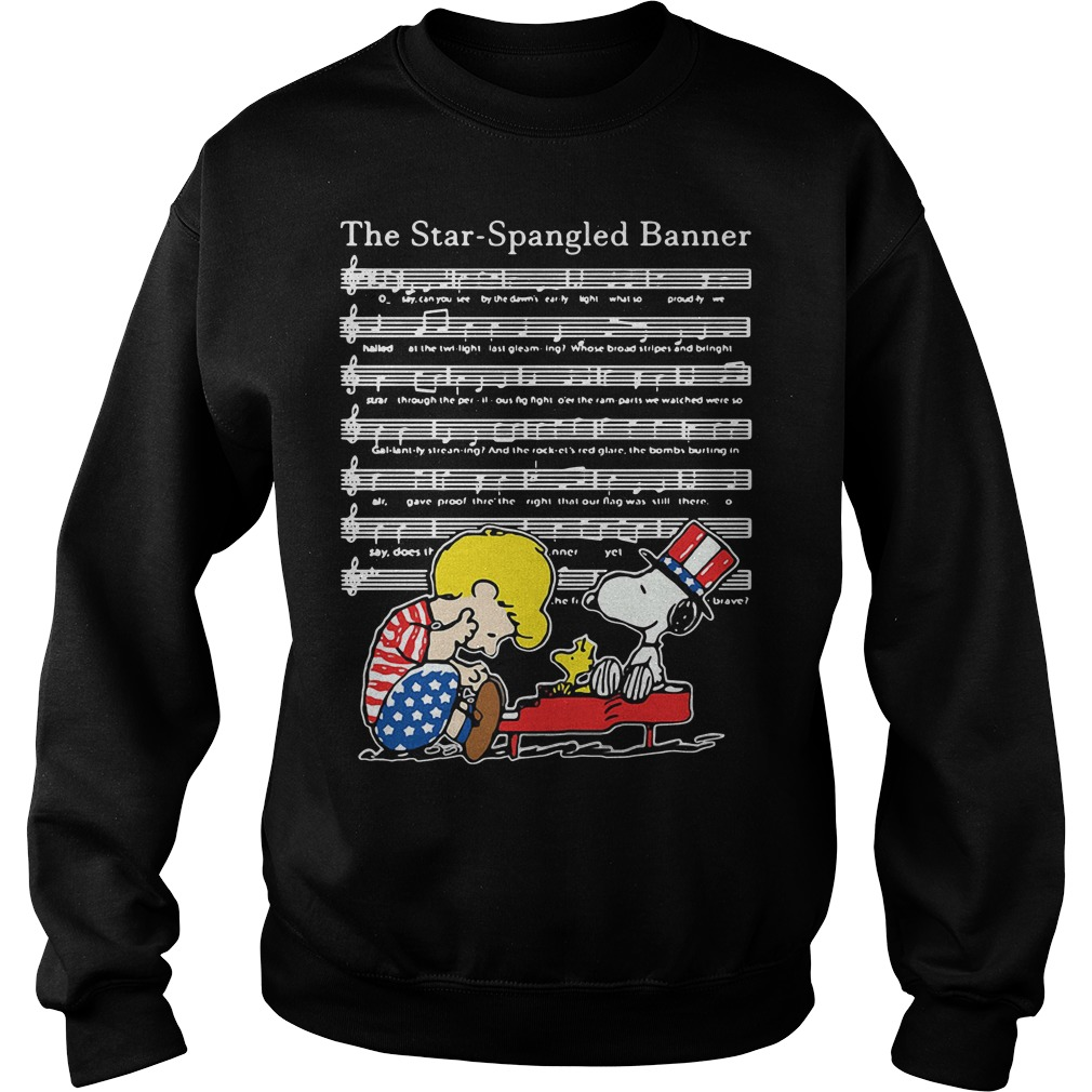 The Star-Spangled Banner Snoopy Independence Day 4th of July Sweater