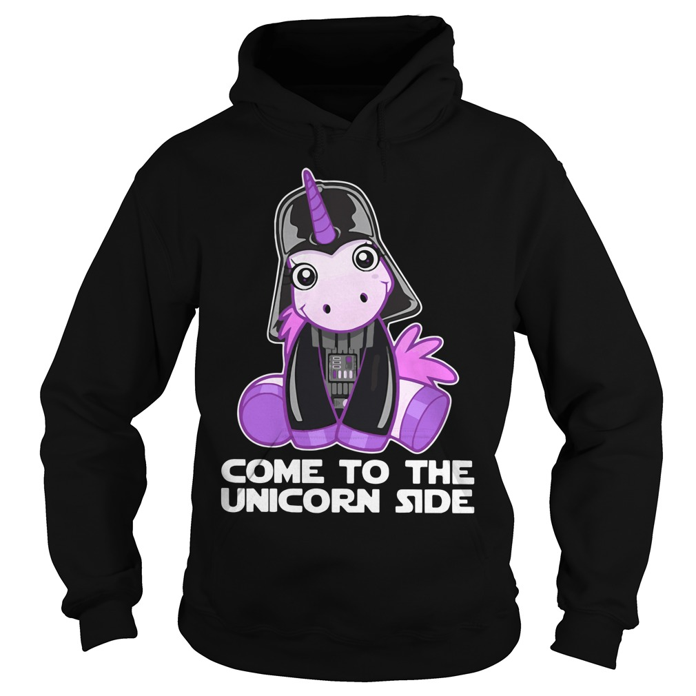 Star Wars come to the Unicorn side Hoodie