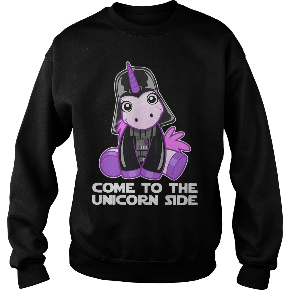 Star Wars come to the Unicorn side Sweater