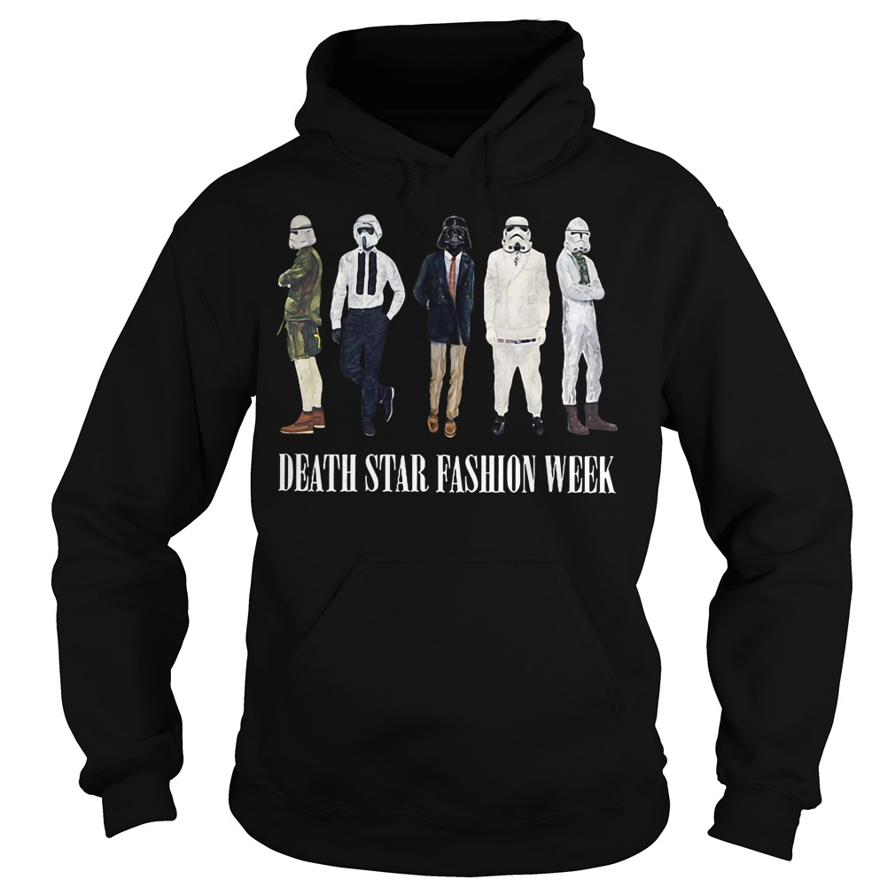 Star War Death Star fashion week Hoodie