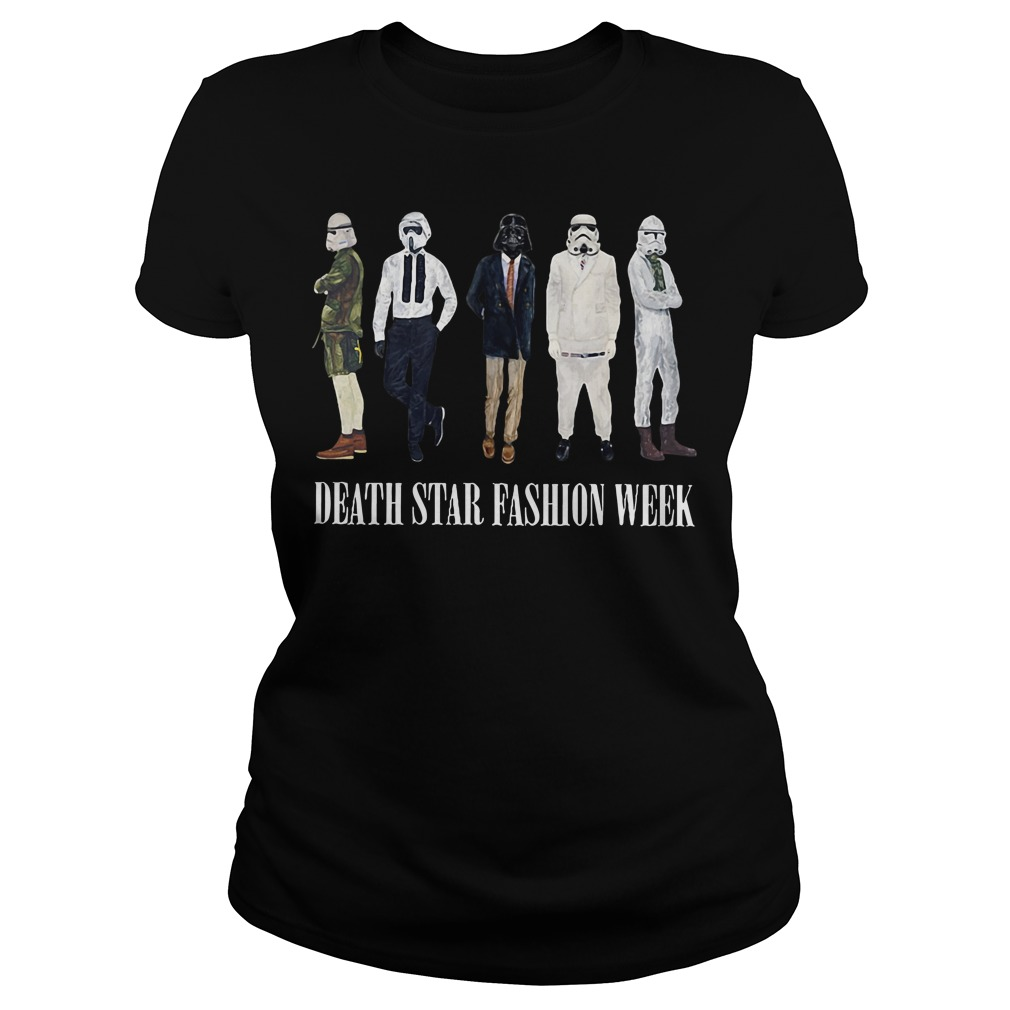 Star War Death Star fashion week Ladies tee