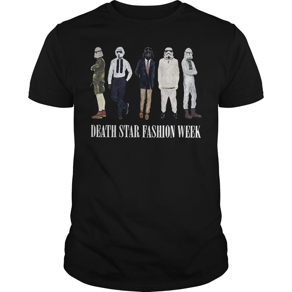 Star Wars Death Star fashion week shirt
