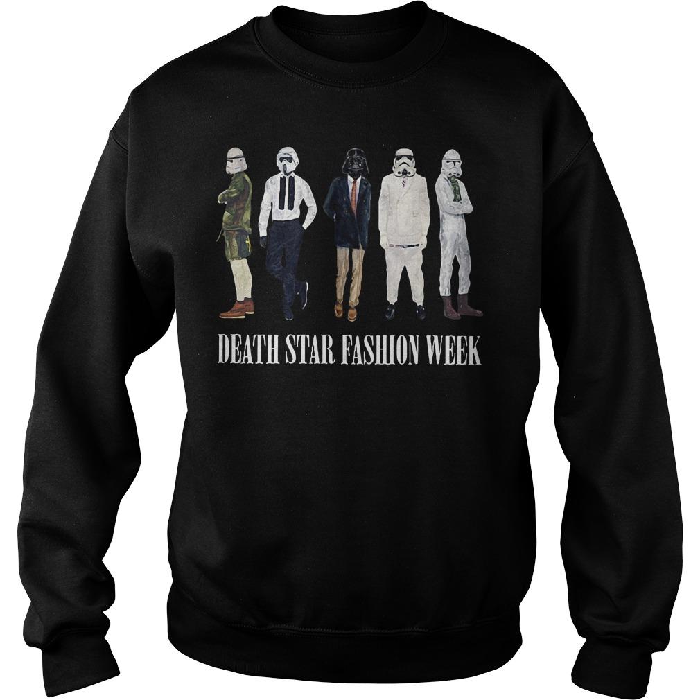 Star War Death Star fashion week Sweater
