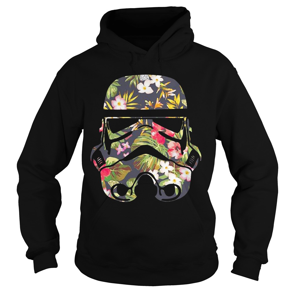 Star Wars Blooming Stormtrooper floral Hoodie