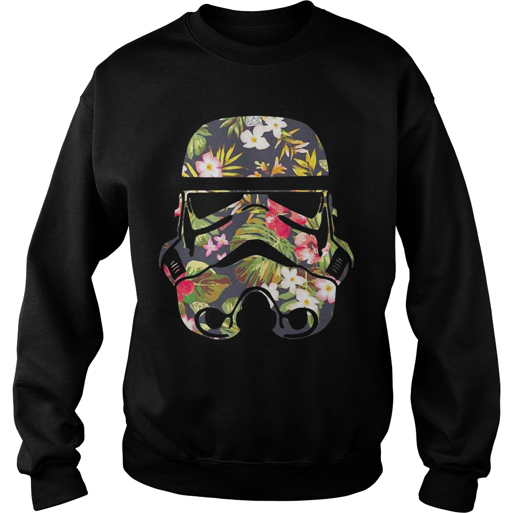 Star Wars Blooming Stormtrooper floral Sweater
