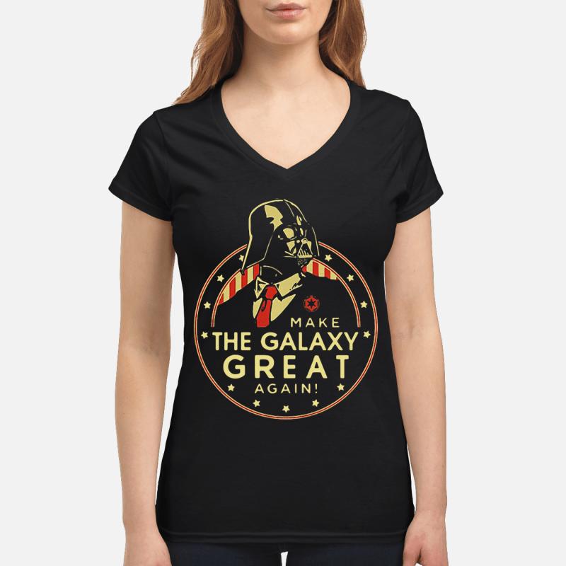 Star Wars Darth Vader make the galaxy great again V-neck t-shirt