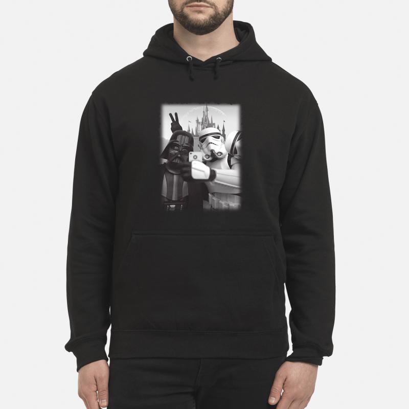 Star Wars Darth Vader and Stormtrooper selfie Hoodie