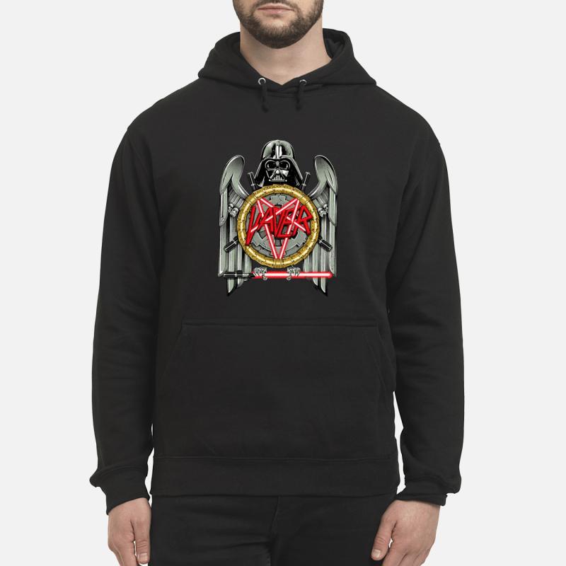 Star Wars Darth Vader Vaver Slayer Eagle logo Hoodie