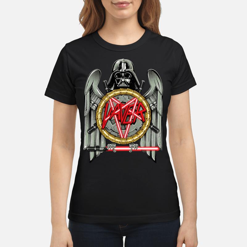 Star Wars Darth Vader Vaver Slayer Eagle logo Ladies tee