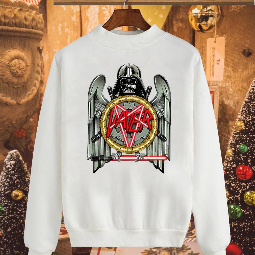 Star Wars Darth Vader Vaver Slayer Eagle logo shirt