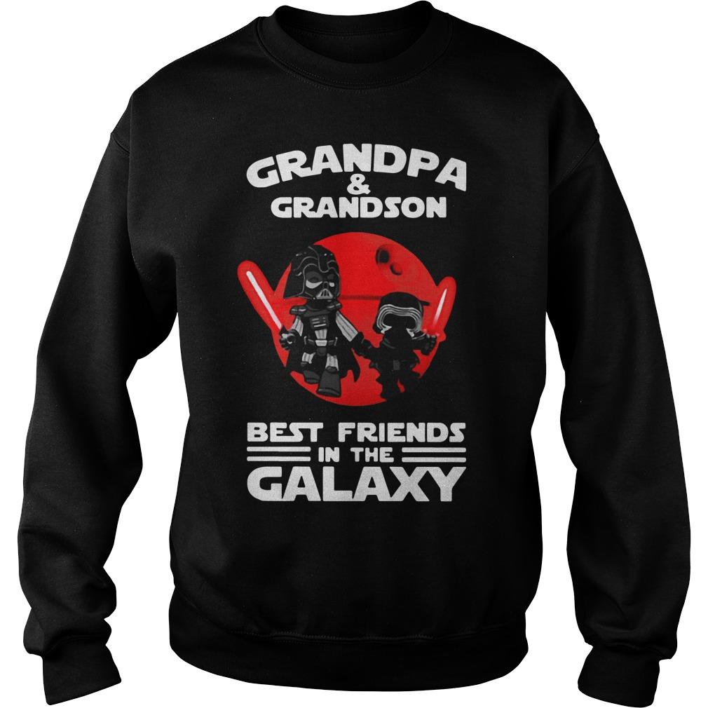 Star Wars Grandpa and grandson best friends in the galaxy Sweater