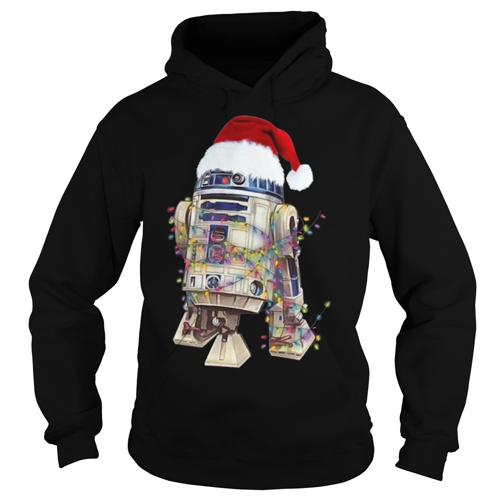 Merry Christmas Star Wars R2 – D2 Hoodie
