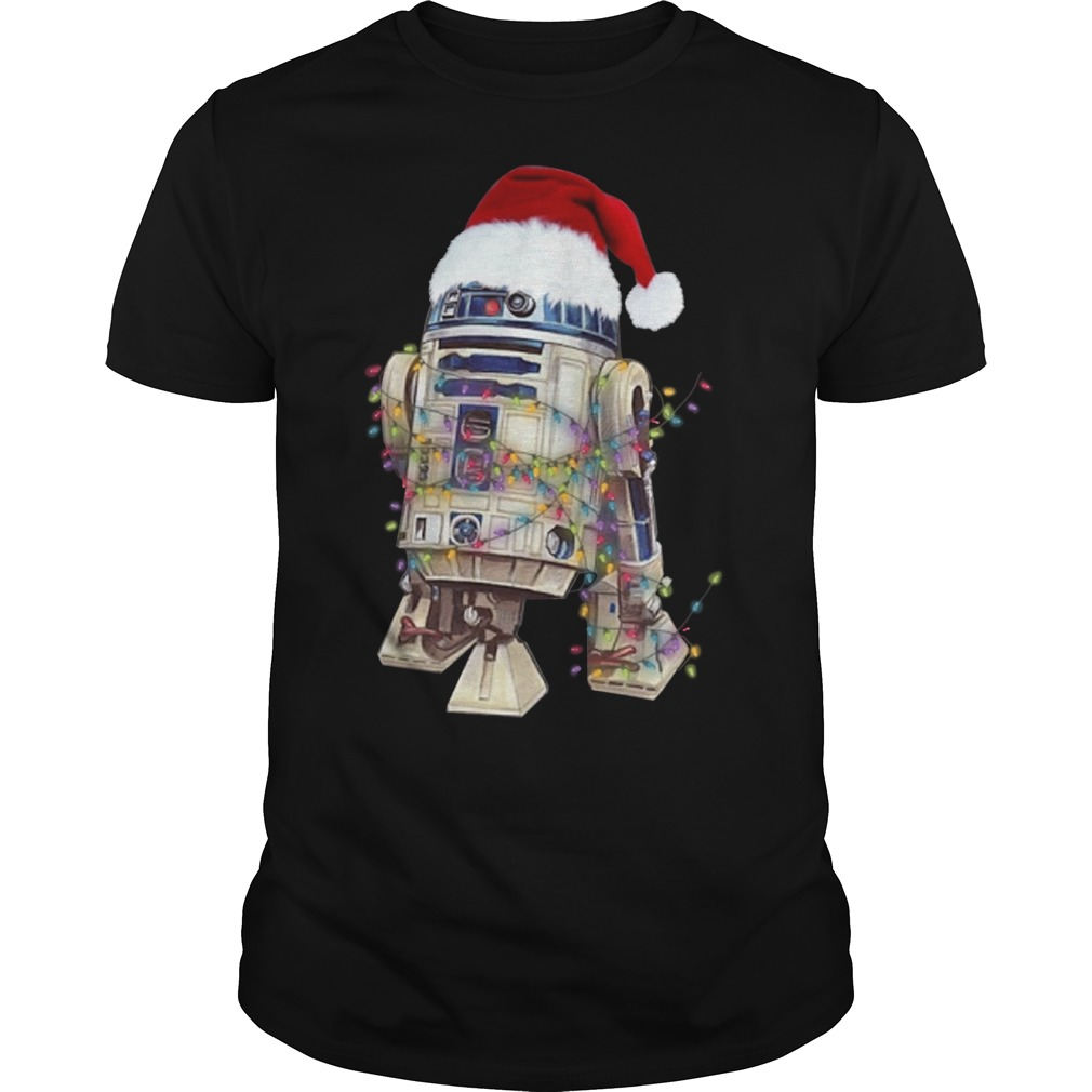 Merry Christmas Star Wars R2 – D2 shirt