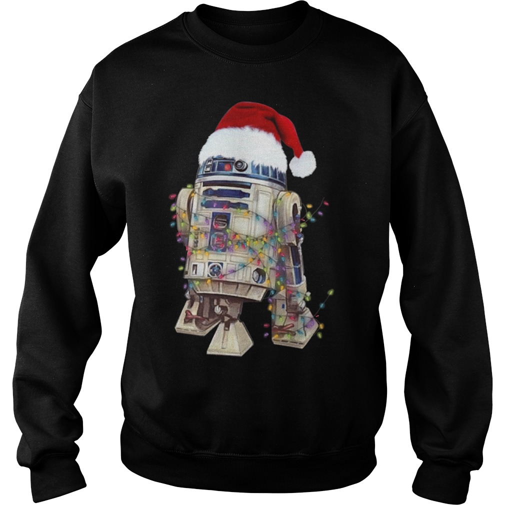 Merry Christmas Star Wars R2 – D2 Sweater