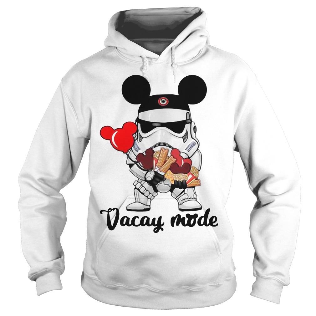 Star Wars Stormtrooper Mickey vacay mode Hoodie