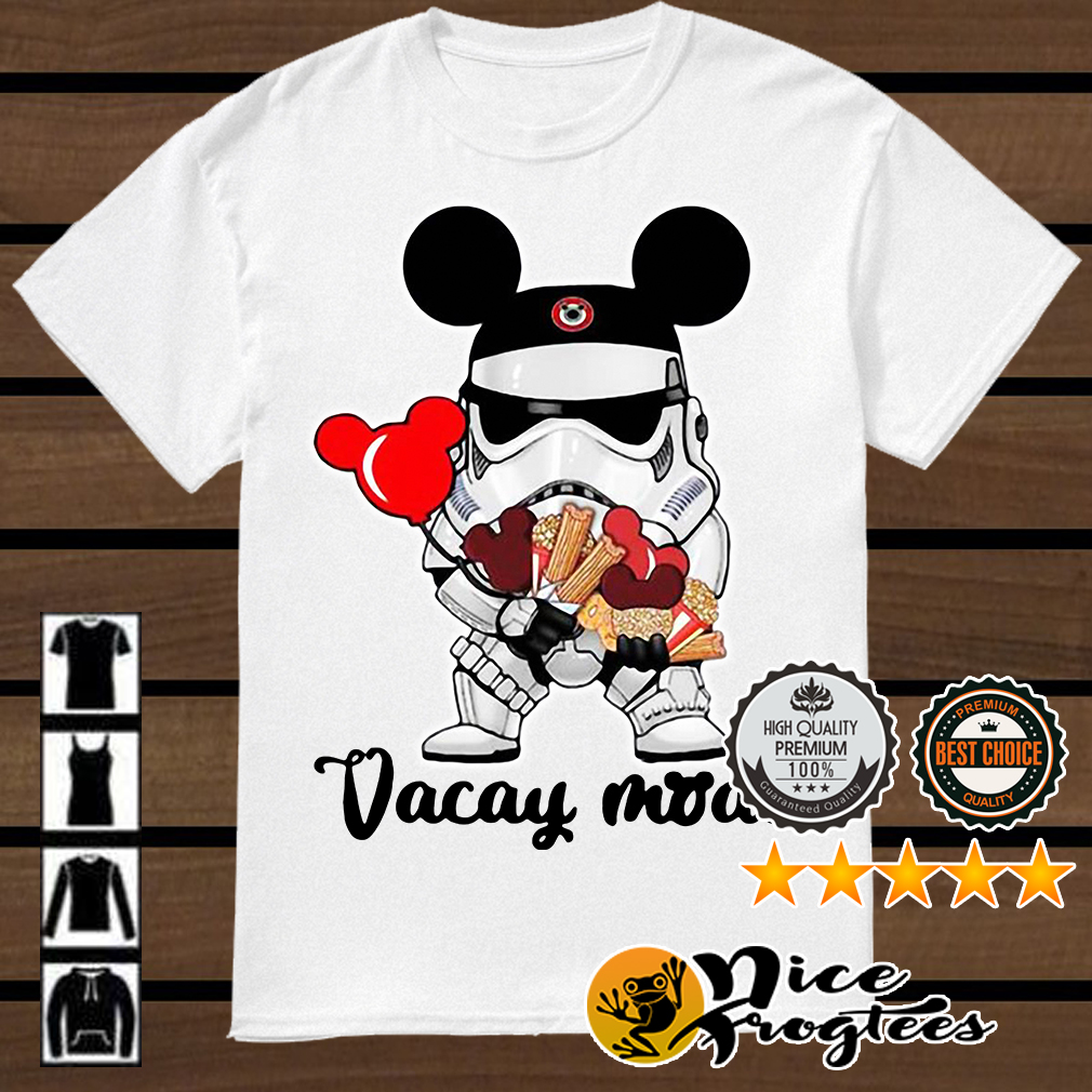 Star Wars Stormtrooper Mickey vacay mode shirt