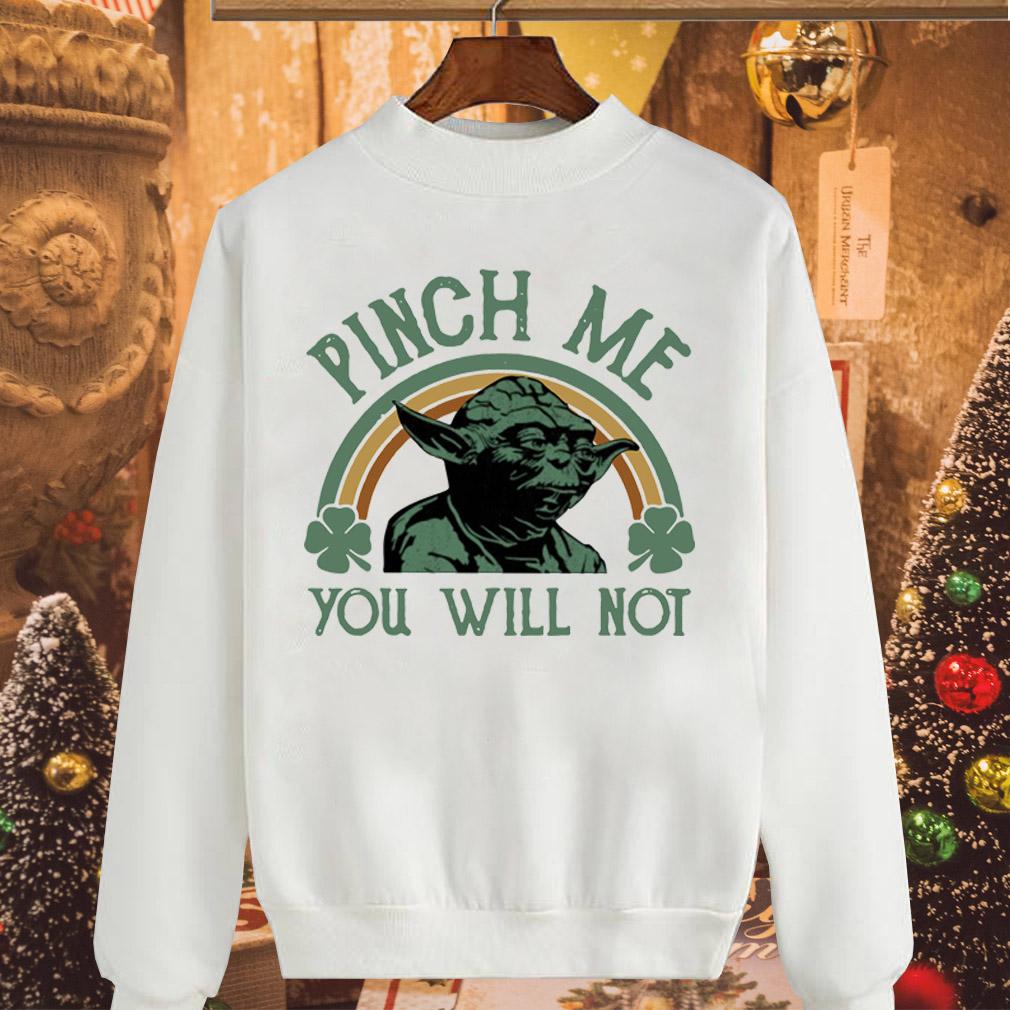 Star Wars Yoda pinch me you will not shirt