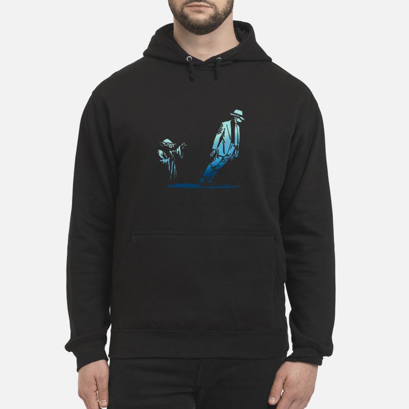 Star Wars Yoda Seagulls and Michael Jackson Hoodie