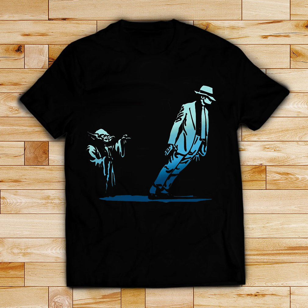 Star Wars Yoda Seagulls and Michael Jackson shirt