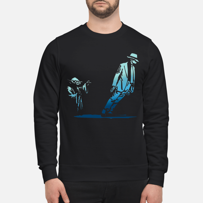 Star Wars Yoda Seagulls and Michael Jackson Sweater