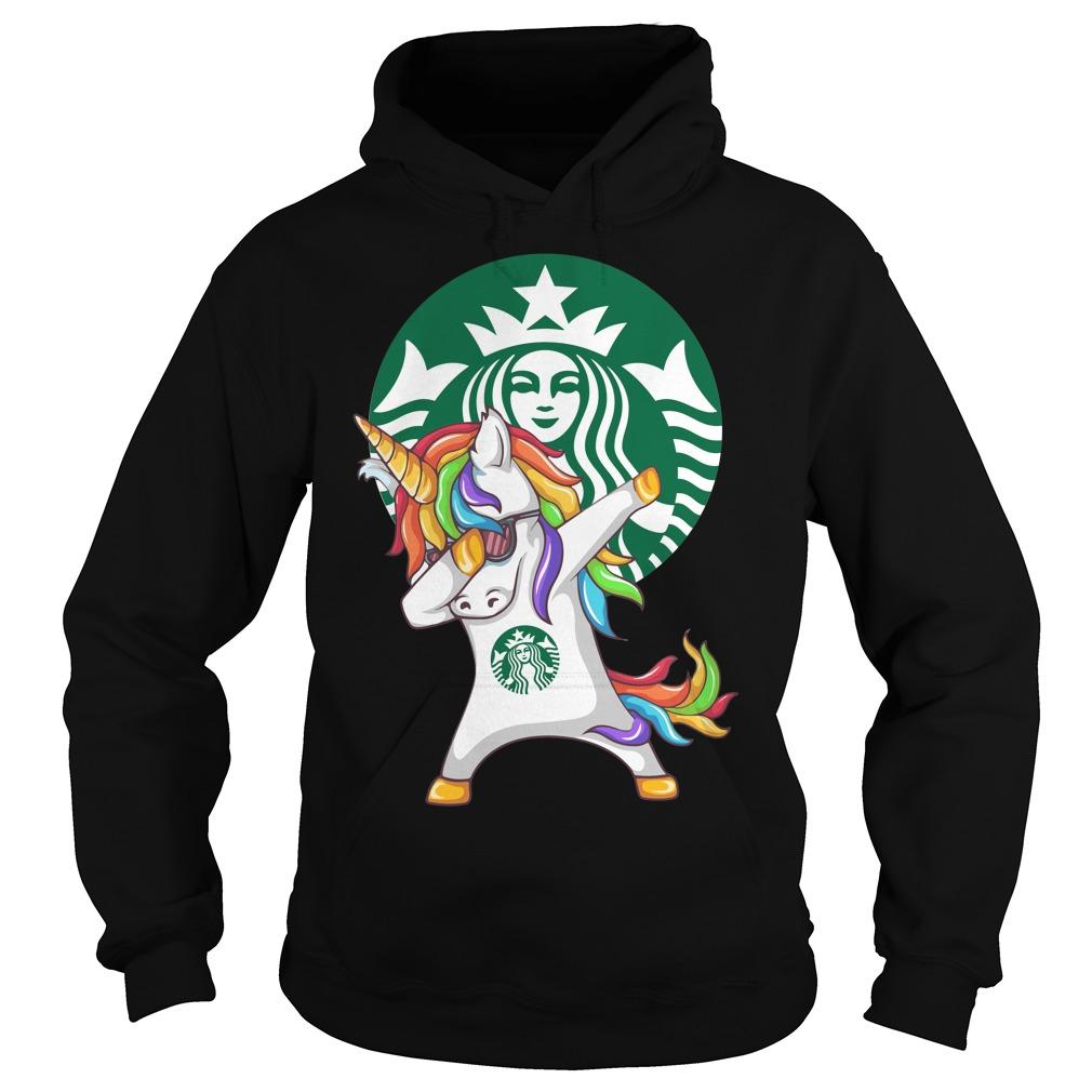 Starbuck Unicorn Dabbing Hoodie