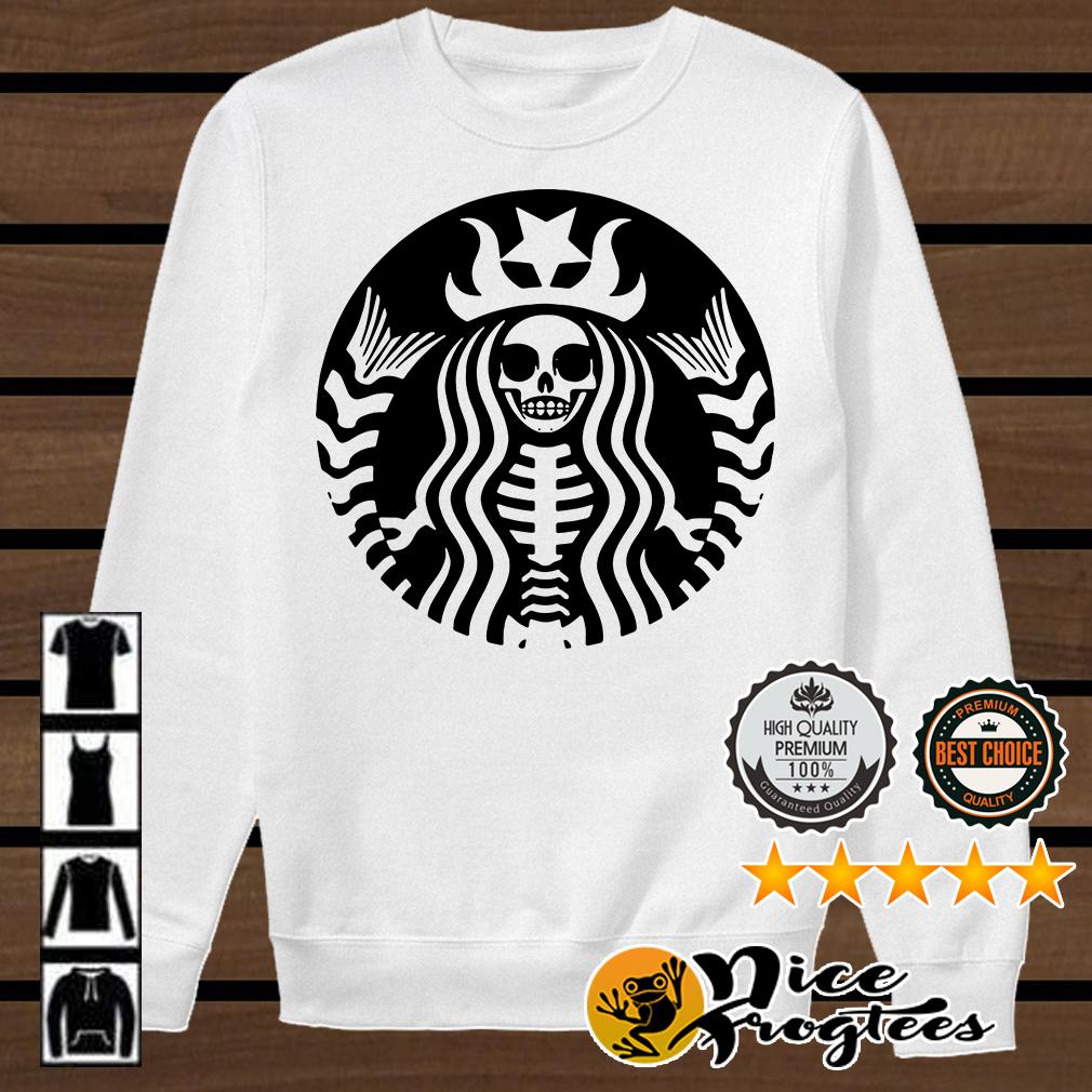 Starbucks Skeleton shirt