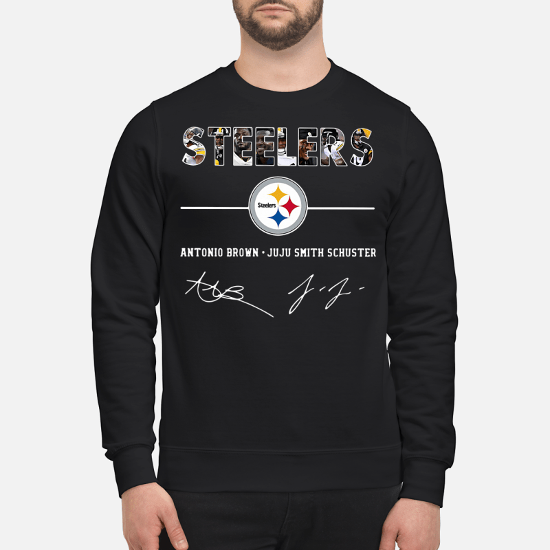 Steelers Antonio Brown Juju Smith Schuster Sweater