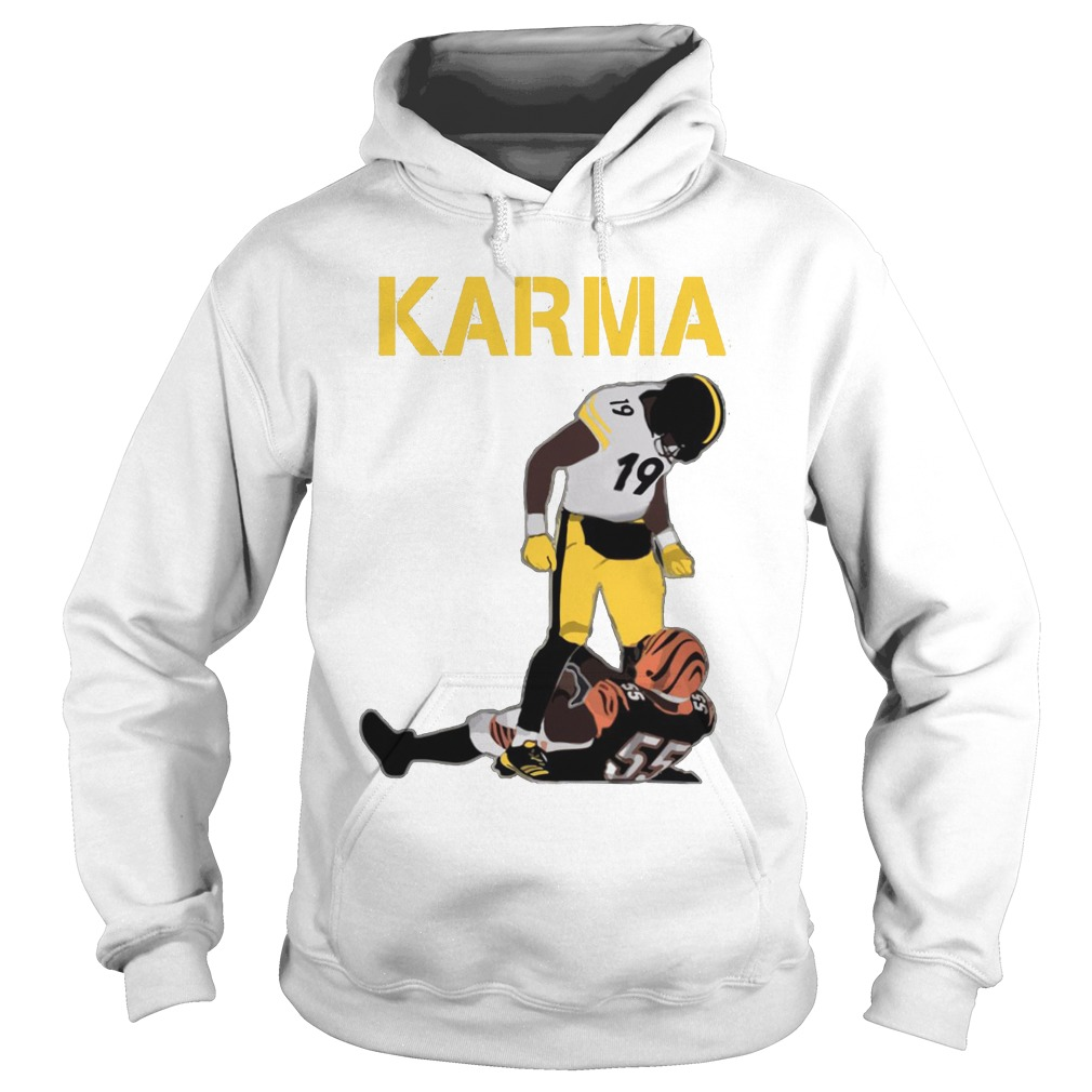 Steelers Karma JuJu Smith-Schuster Vontaze Burfict Hoodie