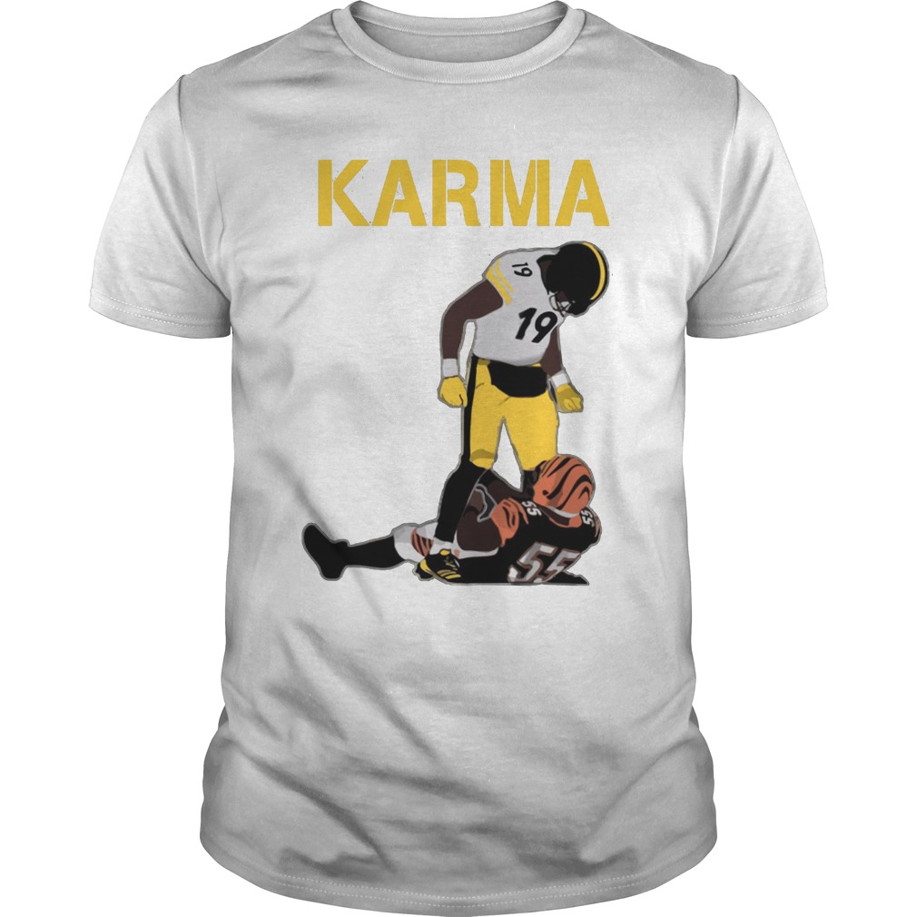 Steelers Karma JuJu Smith-Schuster Vontaze Burfict shirt