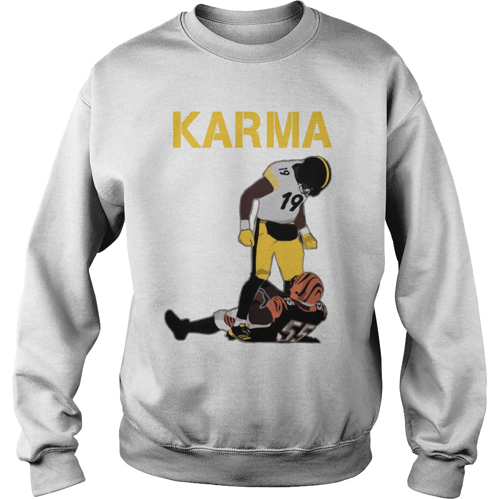 Steelers Karma JuJu Smith-Schuster Vontaze Burfict Sweater