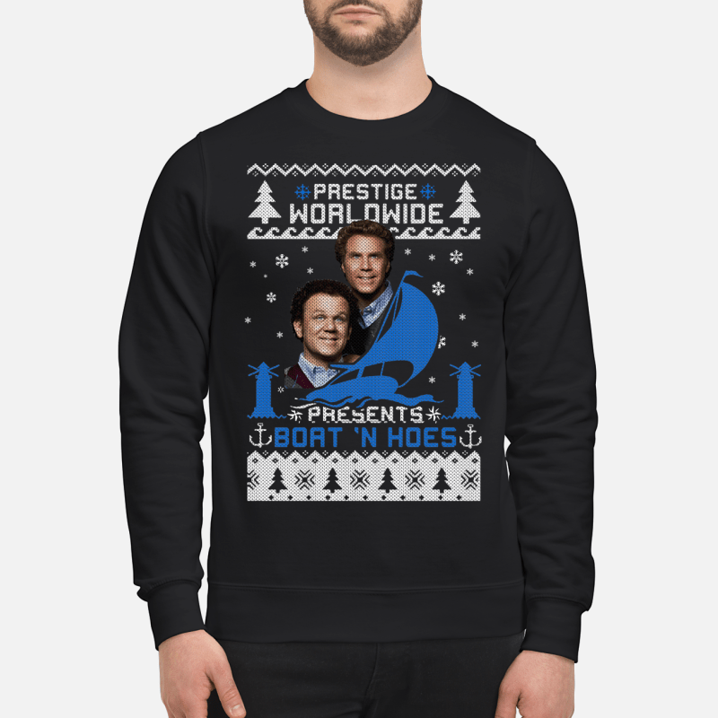 Step Brothers Prestige worldwide presents boats n hoes Sweater