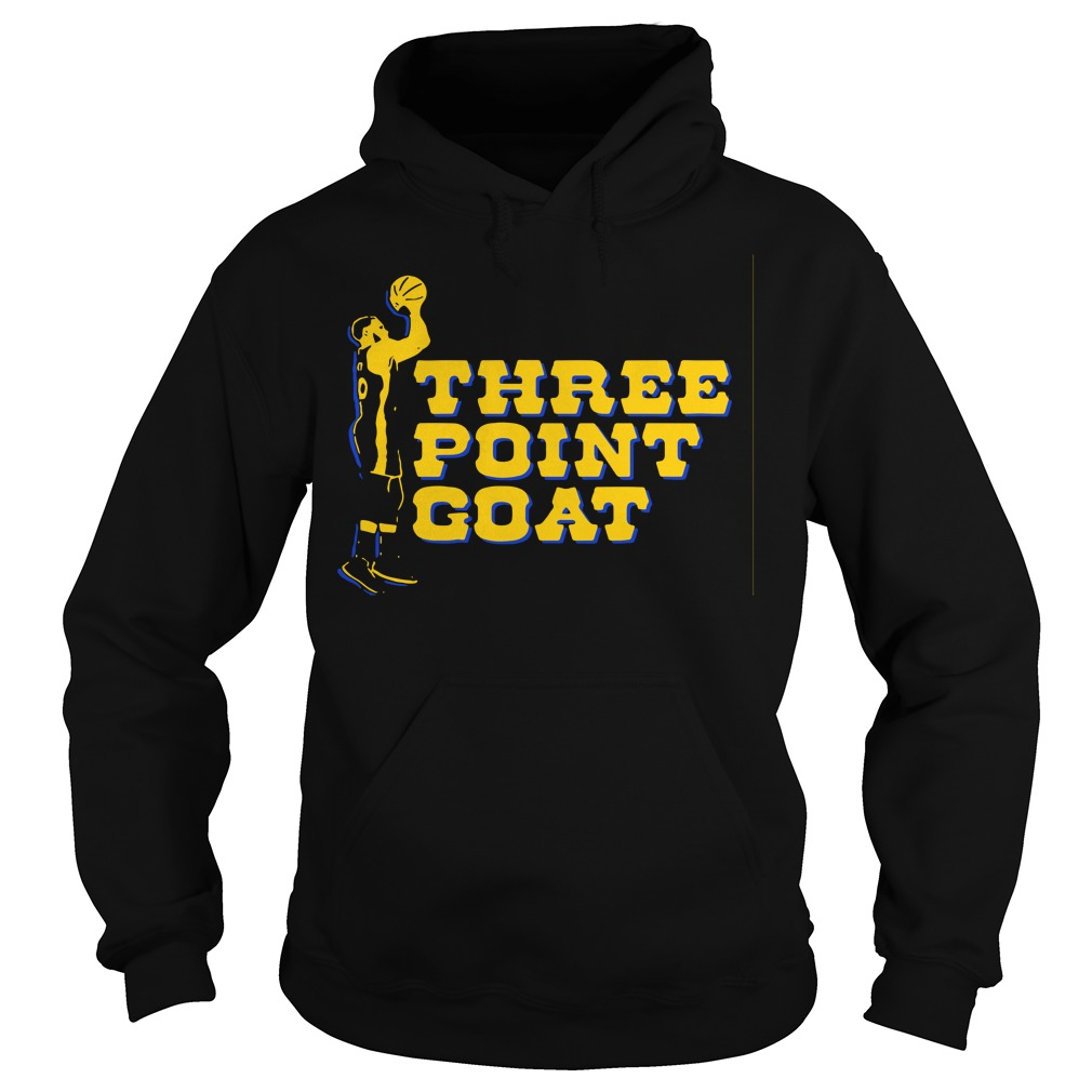 Steph Curry three point goat Golden State Warriors Hoodie