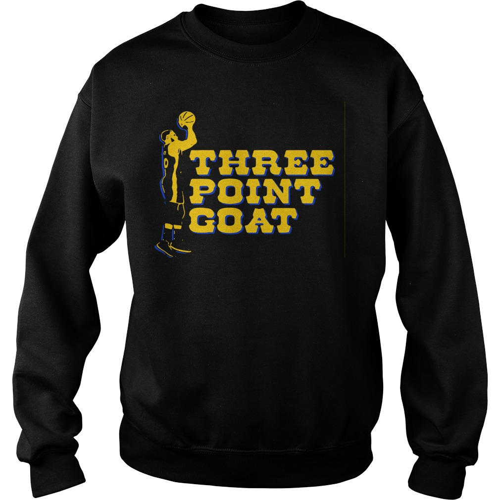 Steph Curry three point goat Golden State Warriors Sweater