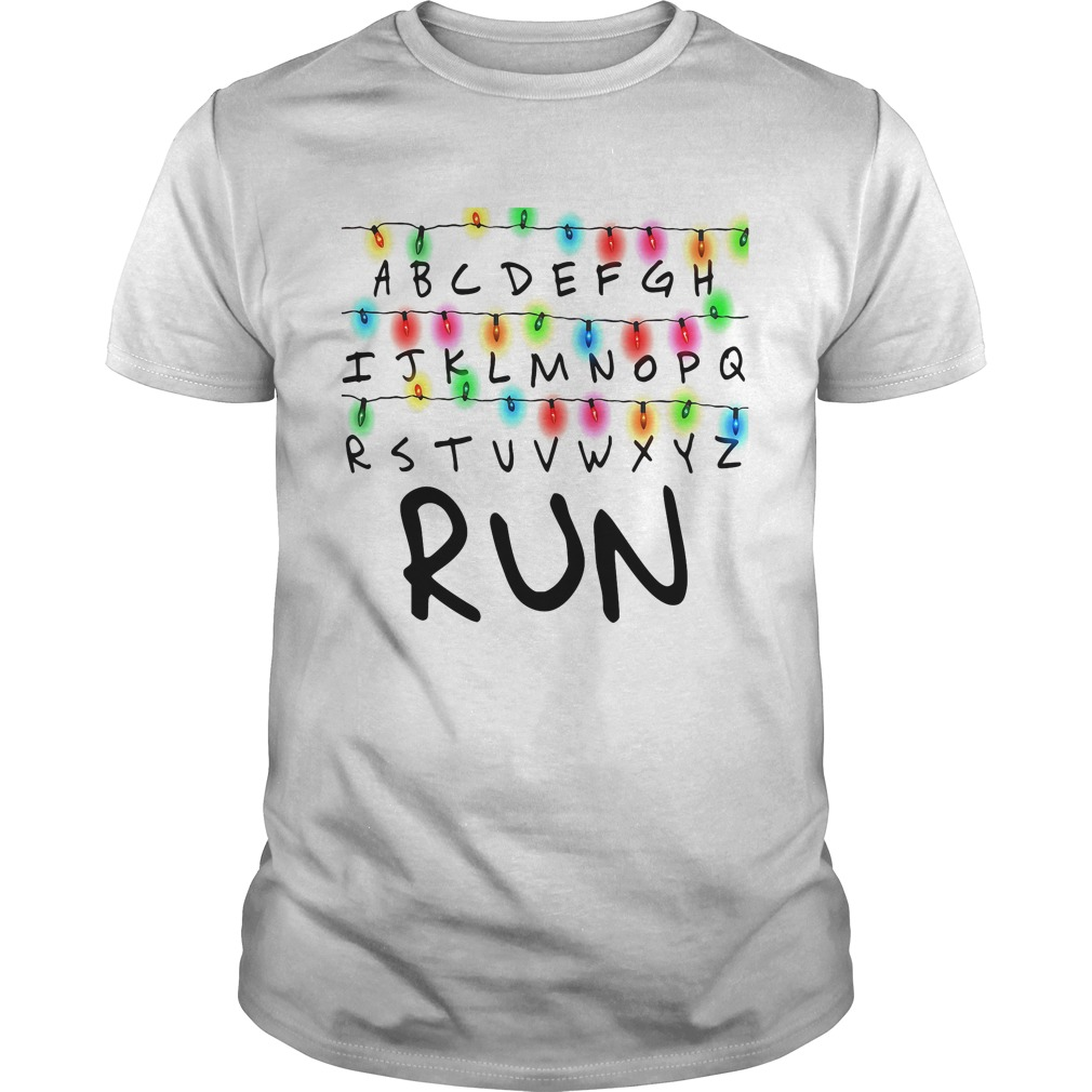 stranger things run shirt hoodie sweater and v neck t. Black Bedroom Furniture Sets. Home Design Ideas