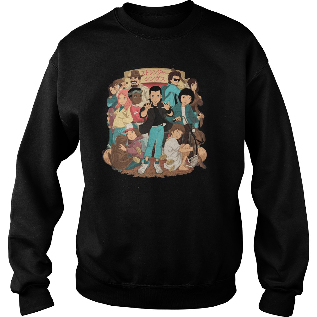 Stranger Things and Studio Ghibli Sweater