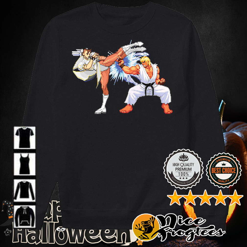 Street Fighter Daigo Umehara vs Justin Wong shirt
